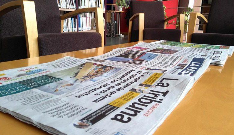 Lee la prensa en las Bibliotecas de Villarrobledo