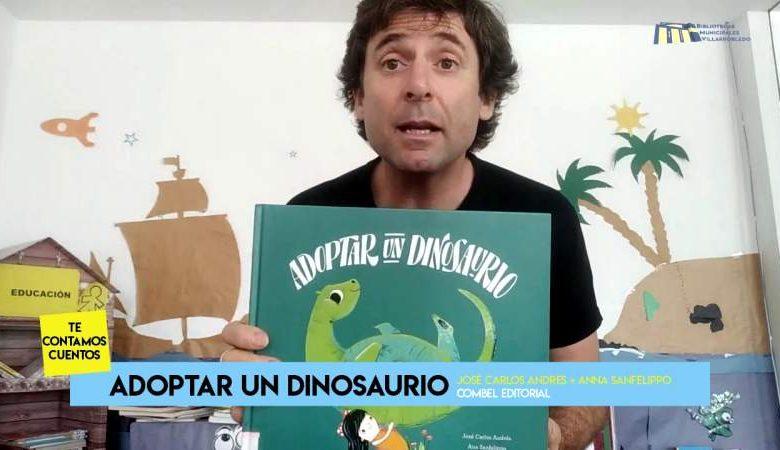 Cuentacuentos - Adoptar a un dinosaurio - Bibliotecas de Villarrobledo