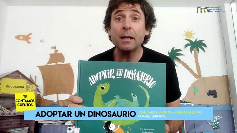 Te contamos cuentos – Adoptar a un dinosaurio