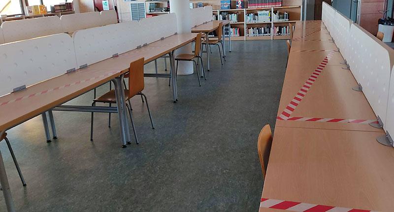 Cierre cautelar de las Bibliotecas de Villarrobledo