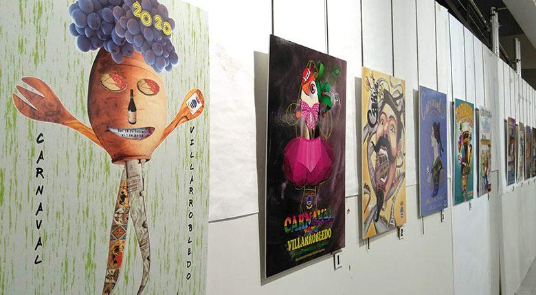 Exposición de carteles del Carnaval 2020 del Ayuntamiento de Villarrobledo