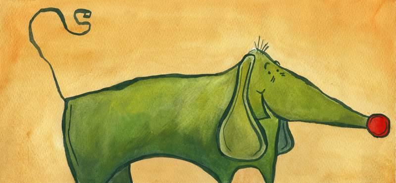 Te contamos cuentos – Willi, el perro casi verde