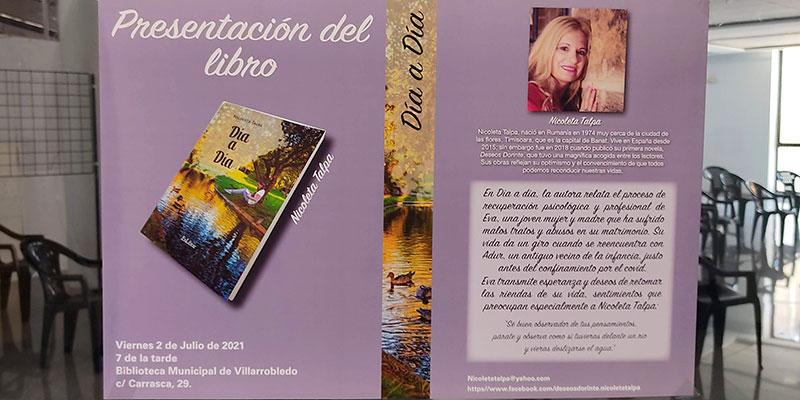 """Nicoleta Talpa presenta su nuevo libro """"Día a día"""""""